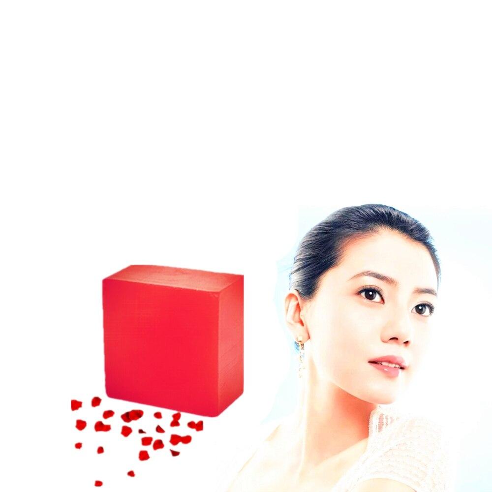 100% Original Neck Face Anti Wrinkle Moisturizing Handmade Soaps Rose Whitening Nourish Essence Soaps For Bathing Face Washing