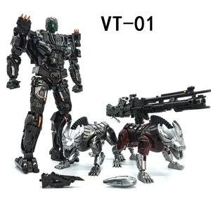 Image 1 - VT 01 VT01 キルロックダウン変換 2 犬合金金属 KO VS UT R01 変形アクションフィギュアロボット視覚おもちゃ