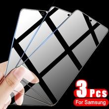 Protecteur d'écran, 3 pièces, Film en verre trempé pour Samsung Galaxy A50 A51 A70 A71 A30S A50S A9 A7 2018 M51 M20 M30S