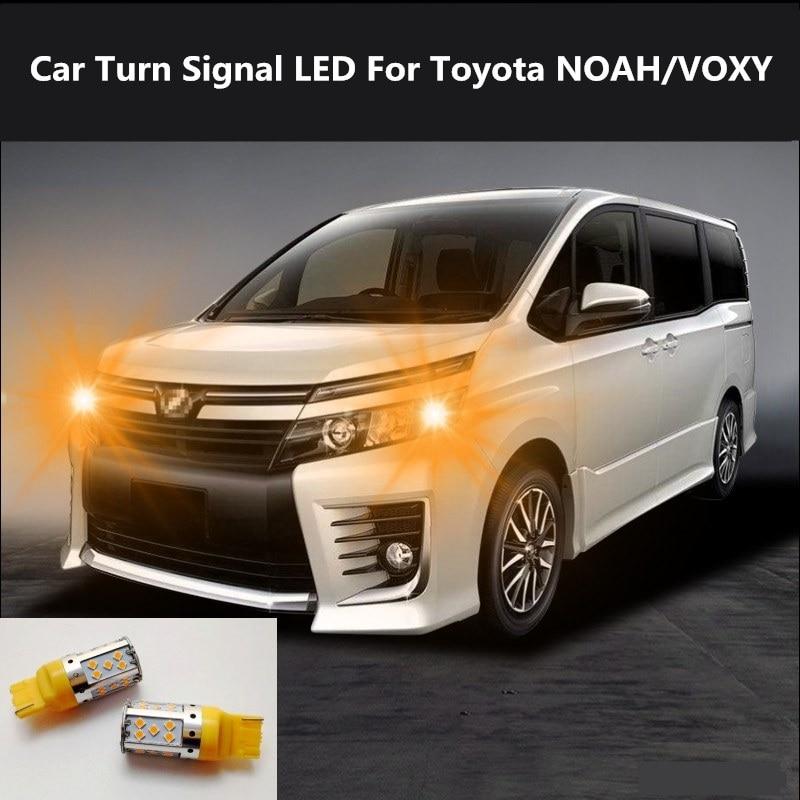Car Turn Signal LED Command light headlight modification For Toyota NOAH/VOXY 2006-2019 12V 10W 6000K 2PCS