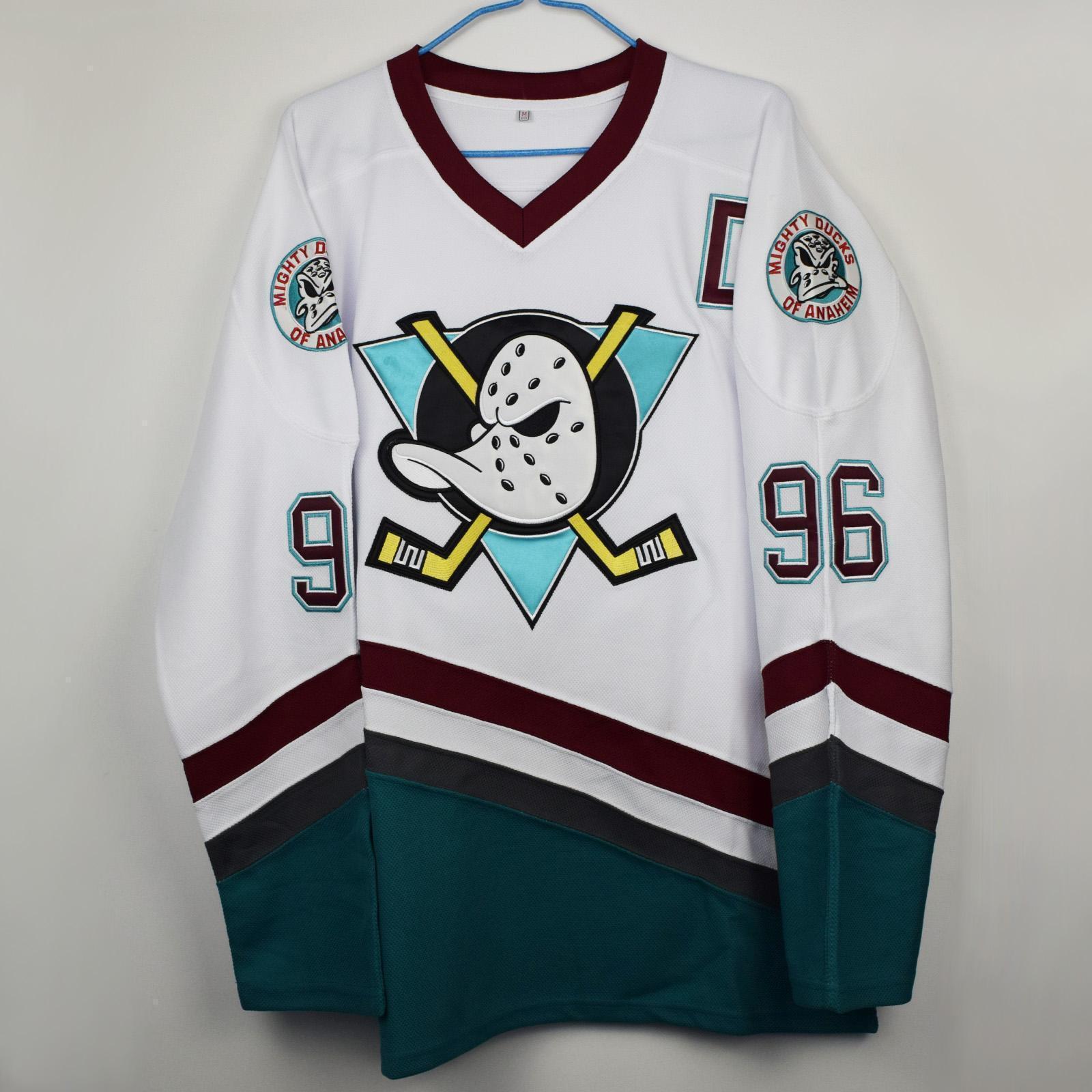 Hockey Jersey Film Version Hockey Jersey No. 96 99 White Duck White