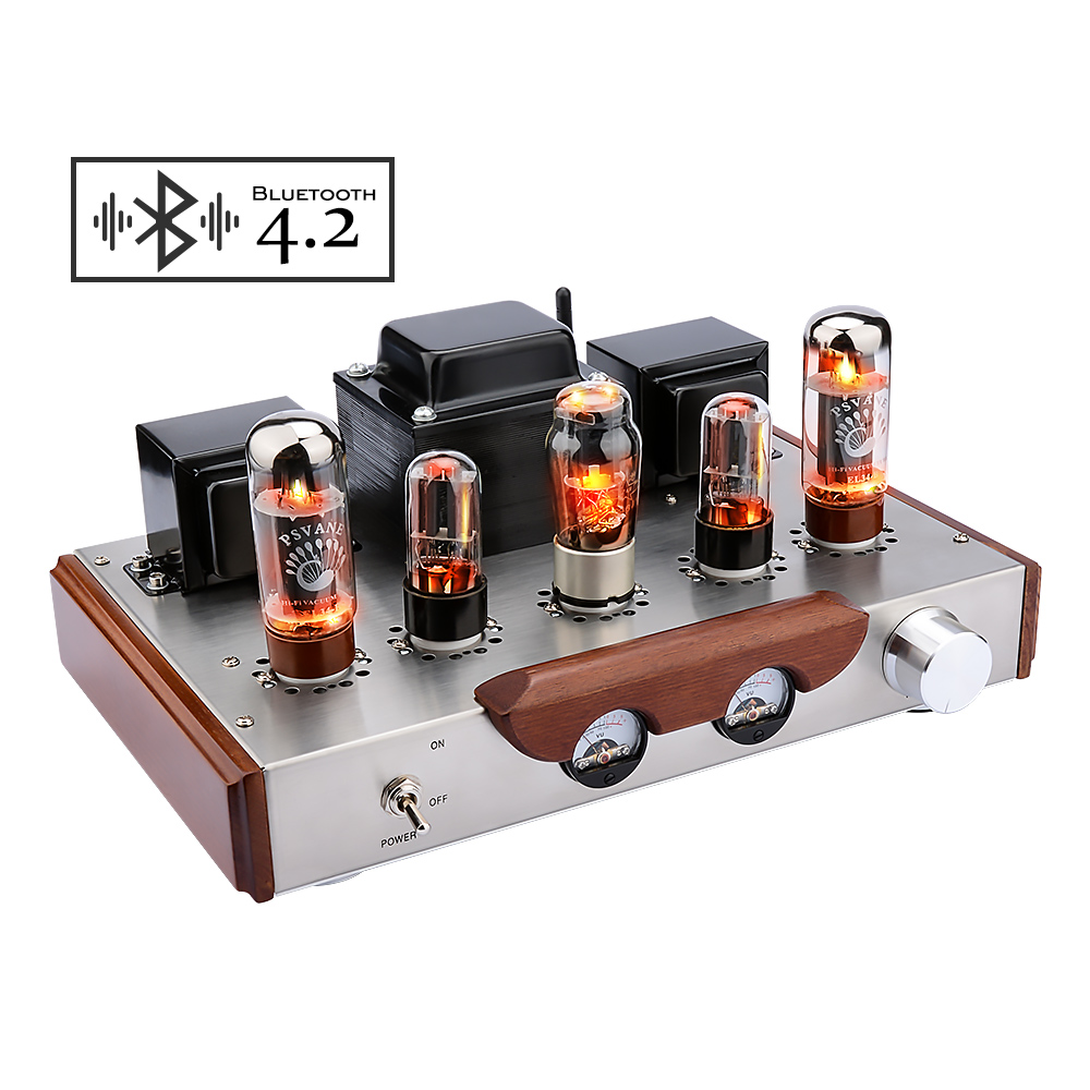 AIYIMA EL34 Preamp <font><b>Tube</b></font> <font><b>Preamplifier</b></font> <font><b>Bluetooth</b></font> Amplificador Class A HIFI Electron <font><b>Tube</b></font> Sound Amplifiers Home Audio Speaker image