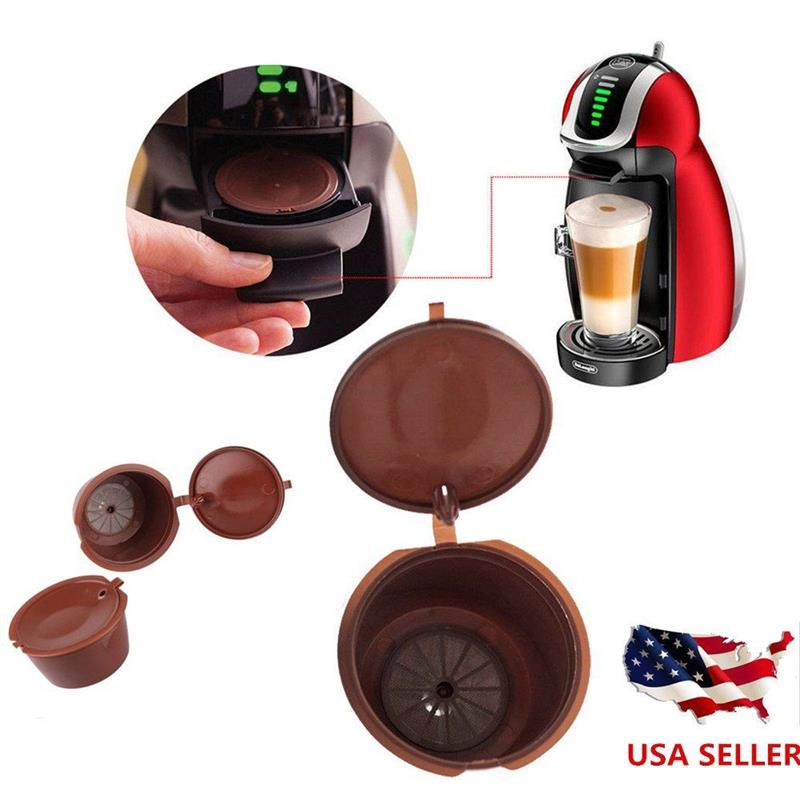 Dolce Gusto Capsules Professional Refillable Coffee Filter Sweet Taste Reusable Coffee Capsule Compatible Kitchen Accessories