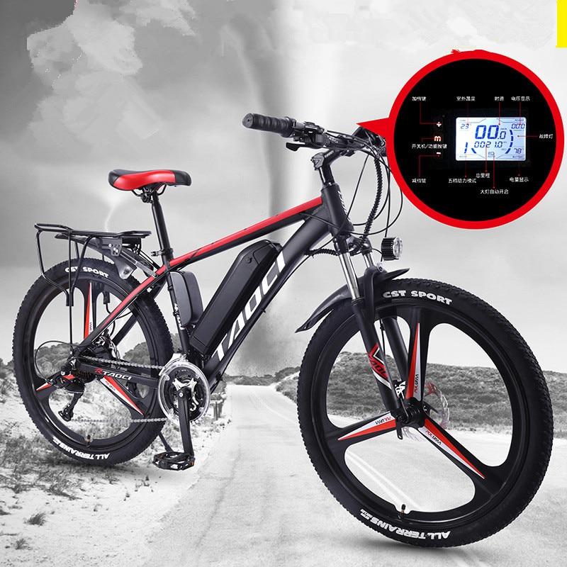 Электрический горный велосипед с литиевым аккумулятором, 48 В, 500 Вт, 15 Ач, 21 скорость