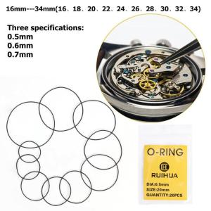 200pcs O Ring Watch Back Gaske