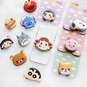 Phone-Stand Socket Stretch-Bracket Finger Mobile-Phone Universal Cartoon Air-Bag Wholesale