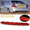 Светодиодный задний третий стоп-светильник PMFC, стоп-сигнал, задсветильник свет, прозрачный/красный корпус для Mercedes Benz CLK W209 C209 2002-2009 2098201056