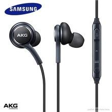 Samsung – écouteurs intra-auriculaires avec fil de Microphone pour AKG, pour Smartphone Galaxy S8 s9 S10, 3.5mm