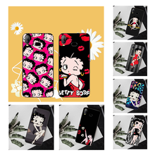 NBDRUICAI Betty Boop Sexy Soft Silicone Black Phone Case For Samsung A10 A20 A30 A40 A50 A70 A71 A51 A6 A8 2018(China)