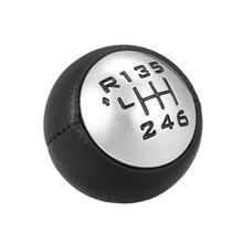 CHAPING Шестерни переключения Головка рычага адаптер ручная работа 6-Скорость коробка передач для Peugeot 307 308 3008 407 5008 807 Citroen C ..