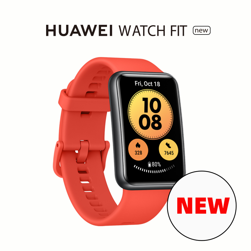 In Stock Global Version HUAWEI Watch FIT SmartWatch Quick Workout Animations Blood Oxygen Watch FIT 10 Days Battery Life Smart Watches  - AliExpress