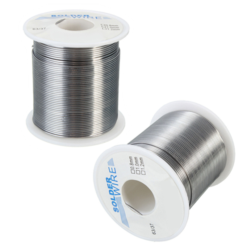 200g 1mm 63/37 Tin/lead Rosin Core FLUX 2.0% Soldering Wires Short Wetting Time For Ordinary Welding Wire Electronics Tool
