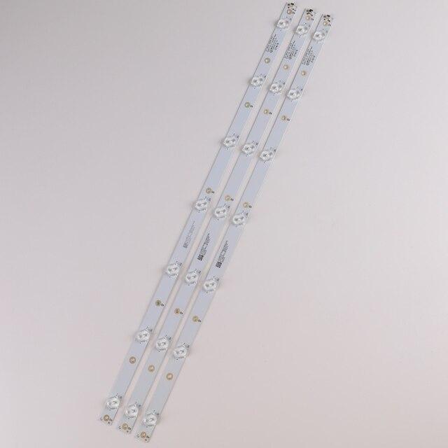"""620mm LED Backlight strip 7 lamp For PHILIPS Sony 32""""TV 32pft5501/60 KDL-32R330D LB32080 E465853 32PHS5301/12 32PFS4132/12 2"""