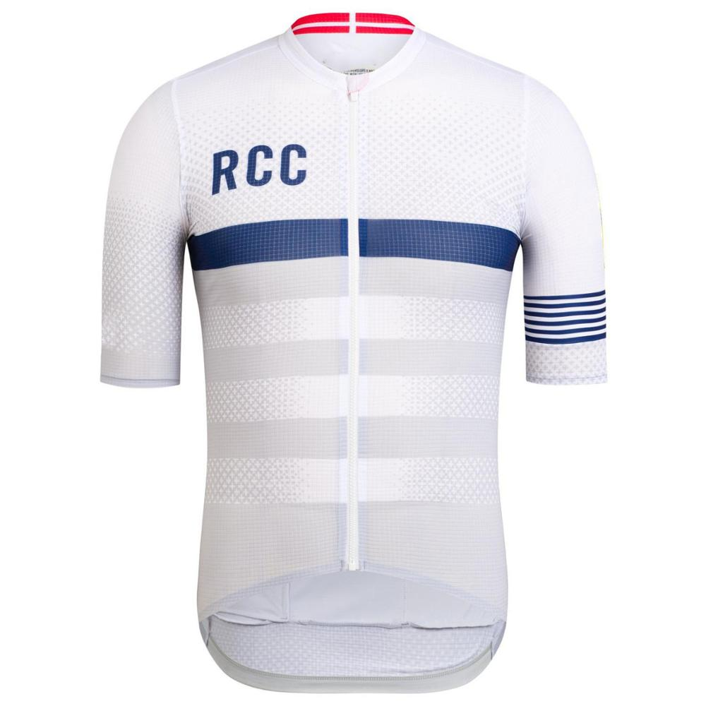 Wear better RCC rainbow pro team areo cycling jersey short sleeve bicycle clothes Summer MTB road bike shirt