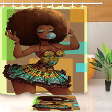 АФРИКАНСКАЯ ДЕВУШКА африканская американская Женская душевая