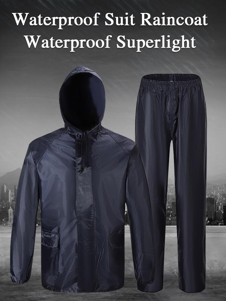 Raincoats Hooded Qian-Suit Cycling Motorcycle Fishing Outdoor Men's Women/men Camping