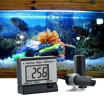 Ph тестер Мини онлайн ОВП-монитор ОВП детектор аквариума Ph измерение ОВП-монитор прибор для измерения Ph для аквариума Анализатор воды EU Plug