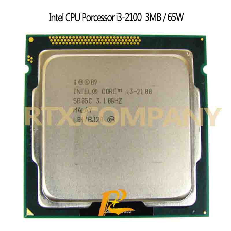 I3 2120T 3220T 2130 3120m 3220 3225 3240 3245 3250 3210 2100t PC Computer CPU Intel <font><b>Xeon</b></font> Server Processor 2-core LGA1155 Socket image