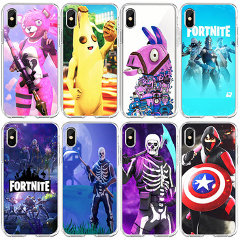 Fortnite Phone Case for Iphone 11 Case  Pro Max 7 8 6 S Plus12 Pro Max Mini Fortress Night Anime Phone Case Cartoons Case Gift 1