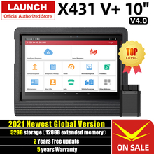 Launch X431 V Plus Car Diagnostic Scanner Auto Diagnostics Tool Full System Diagnosis Scaner Automotive ECU Coding Professional