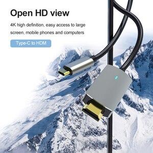 Image 3 - USB סוג C מתאם USB 4K 1080P HDMI ממיר עבור MacBook Samsung Galaxy S9/S8/הערה 9 Huawei USB C כבל וידאו כבל