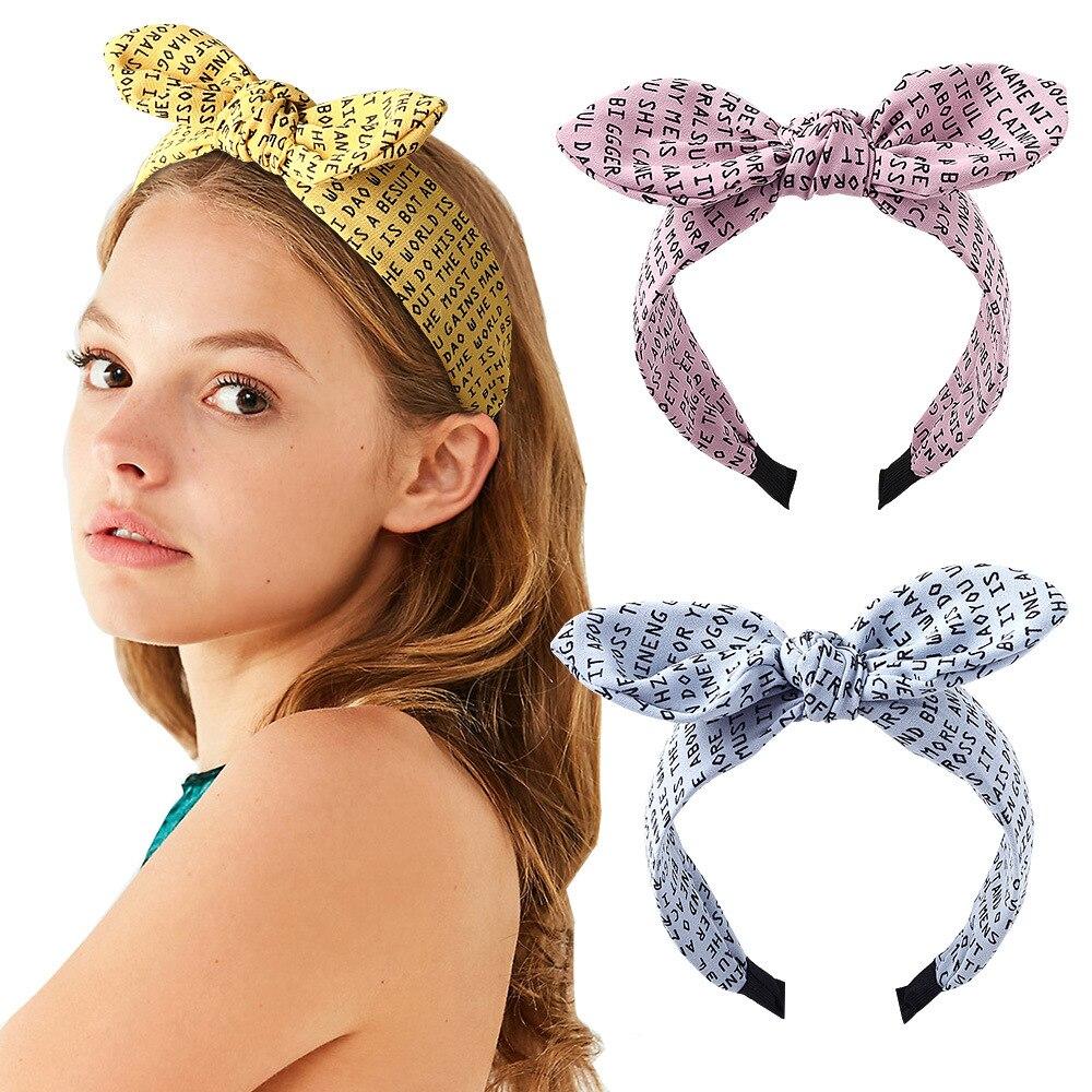 Cotton Ball BowKnot HairBand Hair Accessories