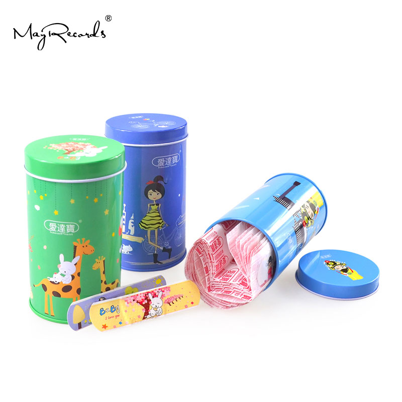 Free Shipping 150PCs Cartoon PE Waterproof Girls + Animals + Chinese Peking Opera Style Adhesive Bandages Band Aid First Aid