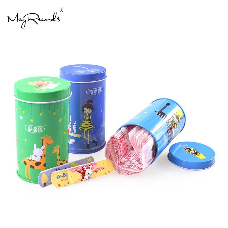 Free Shipping 150PCs Cartoon PE Waterproof Girls + Animals + Chinese Peking Opera Style Adhesive Bandages Band Aid First Aid