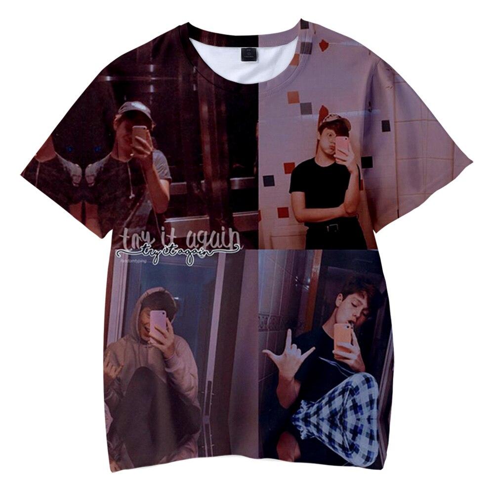 Payton Moormeier 3D Tshirt Men Women Kids Funny Tshirt 2020 Social Media Stars Printed Summer Kawaii Unisex Harajuku Tops