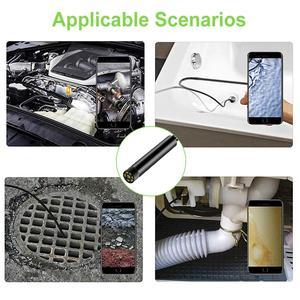 Image 5 - Wireless Endoscope 2.0 Megapixels HD 8.0 mm WiFi Borescope  Waterproof Inspection Snake Camera   With Own WiFi Box 8 LED Lights