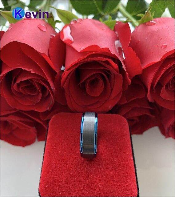 Фото мужские черные вольфрамовые кольца обручальные для женщин с цена