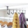 Кухонного шкафа стеллаж для хранения шкаф, полка висит железный гардероб крюк Организатор гардероб одежда кружка Полка вешалка держатель