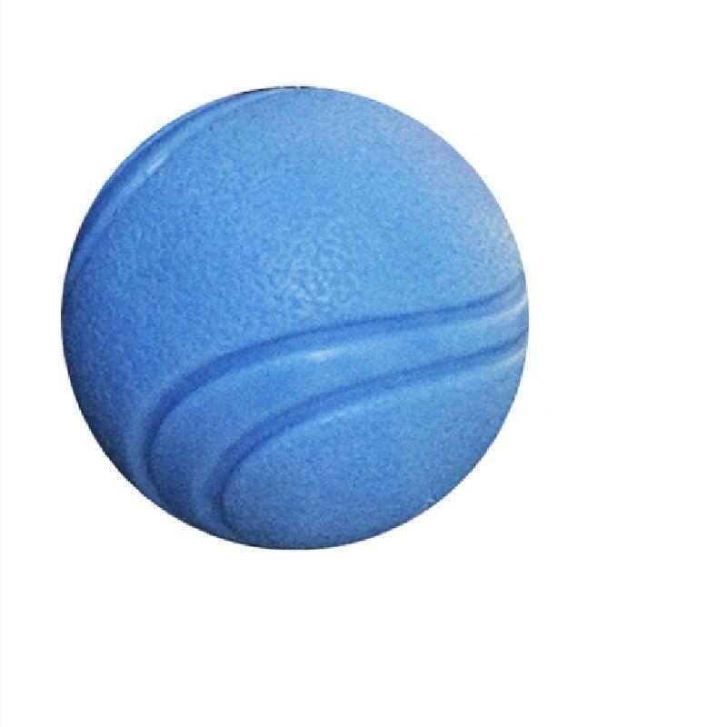 Тренировочная жевательная игрушка для домашних животных, Нетоксичная твердая натуральная резина, мяч для прыжков для собак и кошек, маленький размер-4