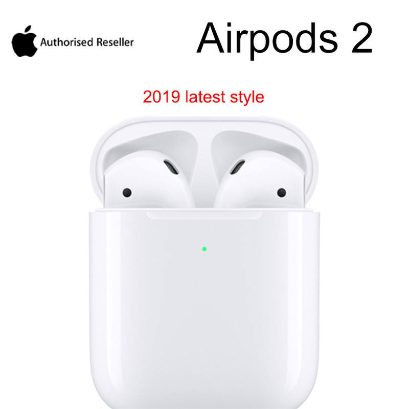 New listing Apple AirPods 2nd with Wireless Charging Case Wireless Earphone Bluetooth Headphone for iPhone MacBook Apple Watch