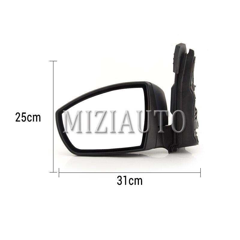 MIZIAUTO 6 Draht Für Ford Escape 2013 Auto Außerhalb Rückspiegel Rückspiegel mit Led anzeige Licht Montage - 5