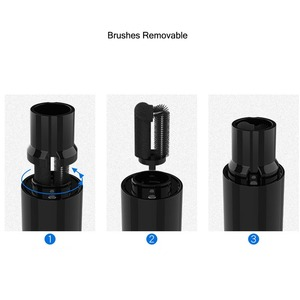 Image 3 - New 1 Set with 3 Replacement Brushes Cleaner Electric Brush Fittings Cleaning Tool for ELIO EC100 Removable Washable for Iqos