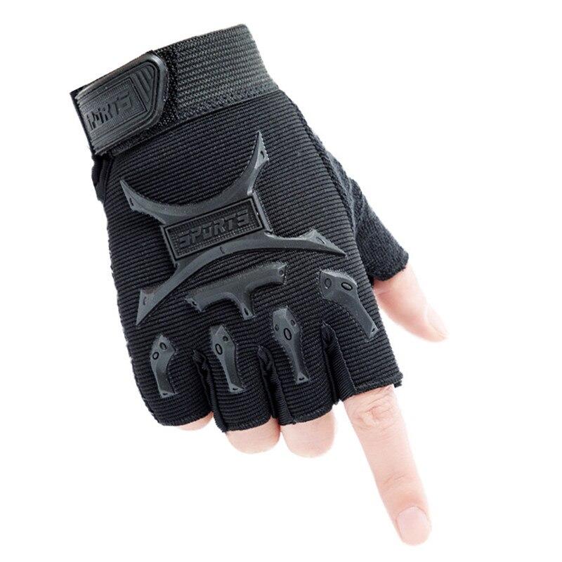 Kids Tactical Fingerless Gloves for 4-14 Years Old Military Armed Anti-Skid Sport Outdoor Half Finger Children Boys Girls Gloves