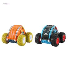 2,4G 180 ° свободный флип-пульт дистанционного управления радиоуправляемые модели автомобилей гоночные трюки мини-автомобиль игрушка XX9E
