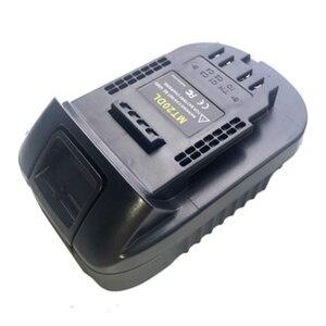 Image 5 - Adaptador de batería Mt20Dl para Makita 18V Bl1830 Bl1860 Bl1815 batería de iones de litio para Dewalt 18V 20V Dcb200 luz de pared de batería de iones de litio