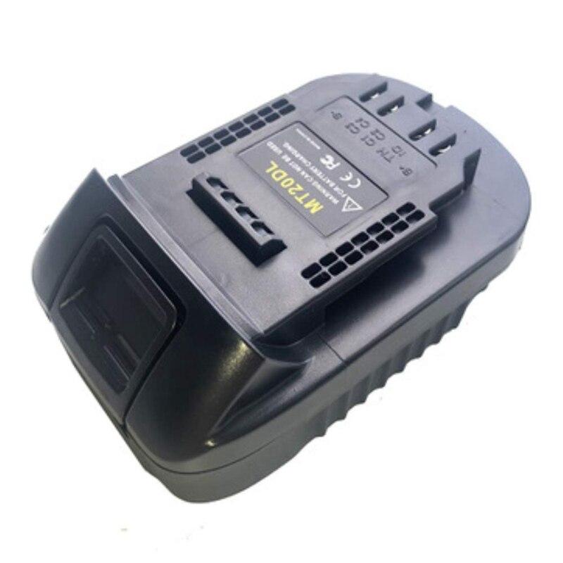 Image 5 - Mt20Dl Battery Adapter For Makita 18V Bl1830 Bl1860 Bl1815 Li Ion Battery For Dewalt 18V 20V Dcb200 Li Ion BatteryBattery Accessories & Charger Accessories   - AliExpress