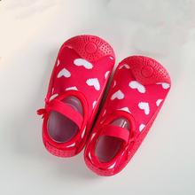 Детские Нескользящие носки тапочки; Хлопковые для маленьких