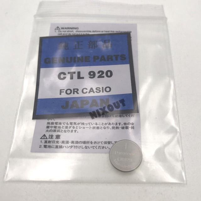 1 шт. ~ 5 шт./лот CTL920F CTL920 аксессуары для часов, новые оригинальные аккумуляторные батарейки CTL920F