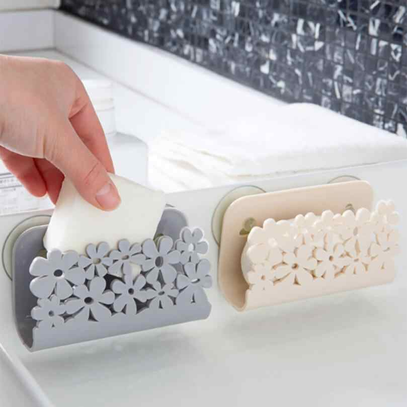 Küche Bad Trocknen Rack Wc, Waschbecken Saug Schwämme Halter Rack Saugnapf Gericht Tücher Halter Wäscher Seife Lagerung