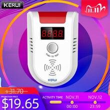 Датчик утечки газа smart life kerui gd13 умный датчик с голосовым