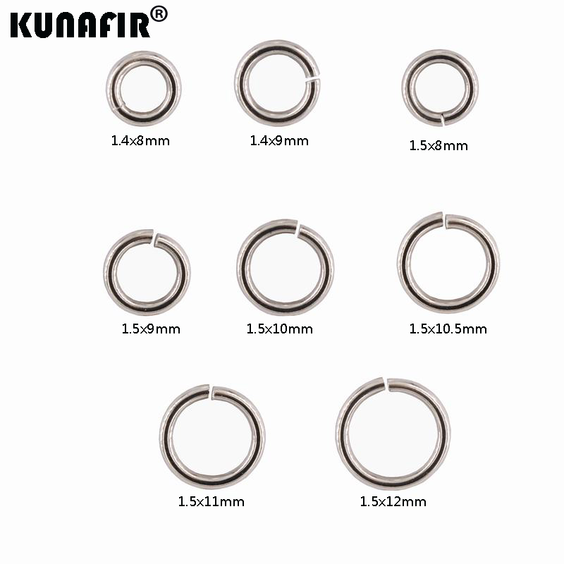 1000 pcs Mixed 4mm 5mm Stainless Steel Split Rings Jump Rings Connector Rings for Jewelry Making Necklaces Bracelet Earrings Keychain DIY Craft M532