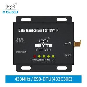 Image 1 - Ethernet Modbus 433MHz 1W IoT TCXO E90 DTU 433C30E A Lungo Raggio PLC Dati di Trasmissione Senza Fili Ricetrasmettitore modem modem ethernet