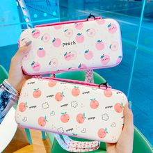 Cartoon Cute Zipper Portable Pouch Case For Switch Storage Bag Travel Carry Protective Cover Game Console Box Shell Good Gift