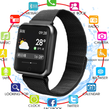 2019 P68 Smart Watch Men Women Blood Pressure Blood Oxygen Heart Rate Monitor Sports Tracker Smartwatch IP68 Connect IOS Android smart watch men women blood pressure heart rate monitor fitness sports tracker smartwatch ip68 connect ios android pk dz09 q18