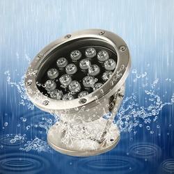 Светодиодный подводный светильник IP68, 3 Вт, 6 Вт, 9 Вт, 12 Вт, 18 Вт, 24 Вт, 36 Вт, RGB, ночник для сада, вечерние, вечеринки, ландшафтный, 12 В, 24 В постоянн...