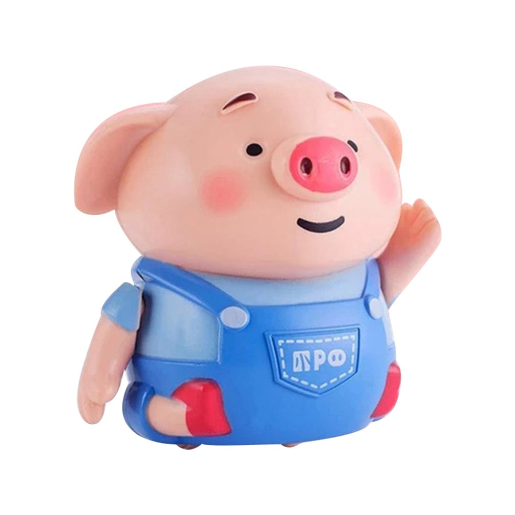 Follow Drawn Line Magic Pen Inductive Pig For Kids Magic Induction Changing Pig Doll Moving Follow The Scribing Electric Pig Toy